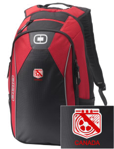Canada Soccer Embroidered OGIO Marshall Backpack