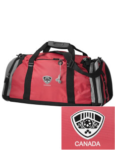 Canada Soccer Embroidered OGIO All Terrain Duffel