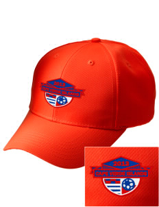 Cape Verde Islands Soccer Embroidered Safety Cap