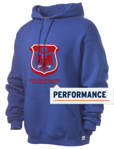 Cape Verde Islands Soccer Russell Men's Dri-Power Hooded Sweatshirt