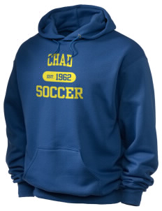 Chad Soccer Holloway Men's 50/50 Hooded Sweatshirt