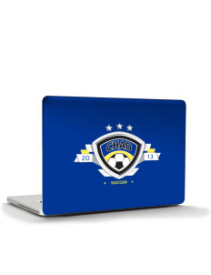 "Chad Soccer Apple MacBook Pro 17"" & PowerBook 17"" Skin"