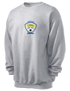 Chad Soccer Men's 7.8 oz Lightweight Crewneck Sweatshirt