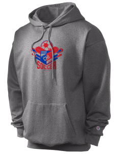 Chile Soccer Champion Men's Hooded Sweatshirt
