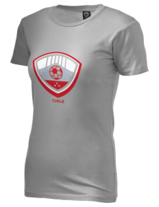 Chile Soccer Alternative Women's Basic Crew T-Shirt