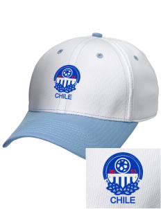Chile Soccer Embroidered New Era Snapback Performance Mesh Contrast Bill Cap