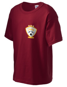China Soccer Kid's 6.1 oz Ultra Cotton T-Shirt