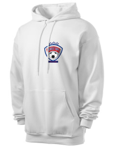 Chinese Taipei Soccer Men's 7.8 oz Lightweight Hooded Sweatshirt