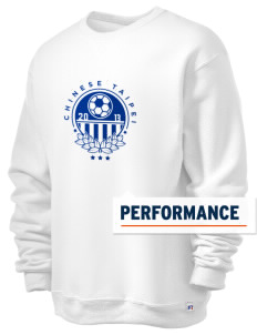 Chinese Taipei Soccer  Russell Men's Dri-Power Crewneck Sweatshirt