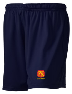 "Colombia Soccer Embroidered Holloway Women's Performance Shorts, 5"" Inseam"
