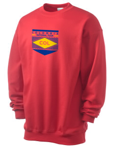 Colombia Soccer Men's 7.8 oz Lightweight Crewneck Sweatshirt