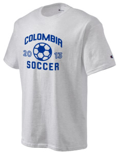 Colombia Soccer Champion Men's Tagless T-Shirt
