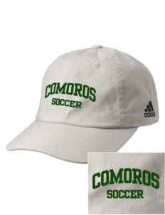 Comoros Soccer Embroidered adidas Relaxed Cresting Cap