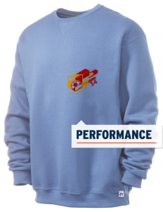 Congo DR Soccer  Russell Men's Dri-Power Crewneck Sweatshirt