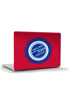 "Costa Rica Soccer Apple Macbook Pro 17"" (2008 Model) Skin"