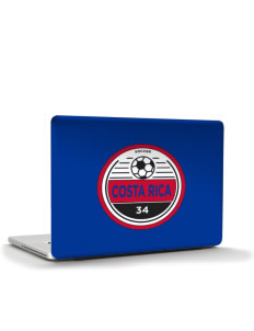 "Costa Rica Soccer Apple MacBook Air 13"" Skin"