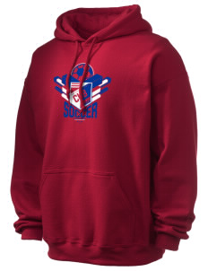 Cuba Soccer Ultra Blend 50/50 Hooded Sweatshirt