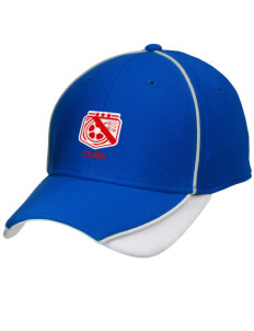 Cuba Soccer Embroidered New Era Contrast Piped Performance Cap