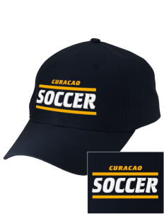 Curacao Soccer Embroidered Low-Profile Cap
