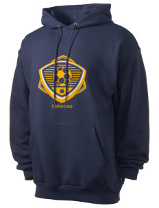 Curacao Soccer Men's 7.8 oz Lightweight Hooded Sweatshirt