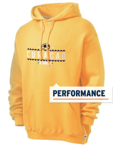 Curacao Soccer Russell Men's Dri-Power Hooded Sweatshirt
