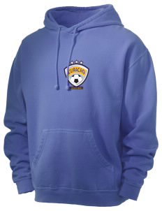 Curacao Soccer Men's 80/20 Pigment Dyed Hooded Sweatshirt