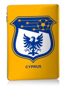 Cyprus Soccer Apple iPad Skin