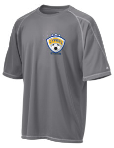 Cyprus Soccer Champion Men's 4.1 oz Double Dry Odor Resistance T-Shirt