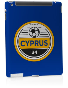 Cyprus Soccer Apple iPad 2 Skin