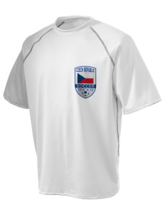 Czech Republic Soccer Holloway Men's Vapor Performance T-Shirt