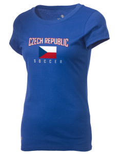 Czech Republic Soccer Holloway Women's Groove T-Shirt