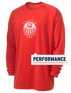 Denmark Soccer Men's Ultimate Performance Long Sleeve T-Shirt
