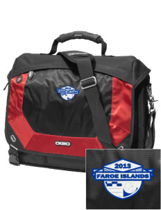 Faroe Islands Soccer Embroidered OGIO Jack Pack Messenger Bag
