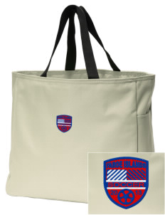Faroe Islands Soccer Embroidered Essential Tote