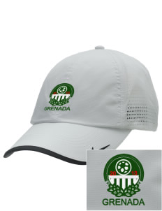 Grenada Soccer Embroidered Nike Dri-FIT Swoosh Perforated Cap