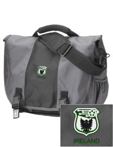 Republic of Ireland Soccer  Embroidered Montezuma Messenger Bag