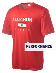 Lebanon Soccer Men's Competitor Performance T-Shirt