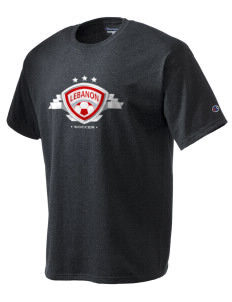 Lebanon Soccer Champion Men's Tagless T-Shirt