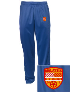 Malaysia Soccer Embroidered Men's Tricot Track Pants