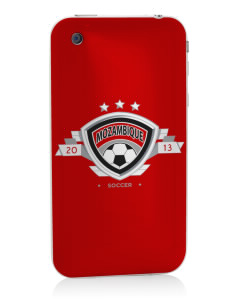 Mozambique Soccer Apple iPhone 3G/ 3GS Skin