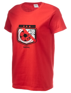 Nepal Soccer Women's 6.1 oz Ultra Cotton T-Shirt