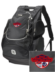New Zealand Soccer  Embroidered OGIO Bounty Hunter Backpack