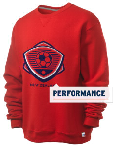 New Zealand Soccer  Russell Men's Dri-Power Crewneck Sweatshirt