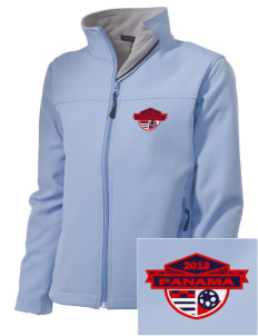 Panama Soccer Embroidered Women's Soft Shell Jacket