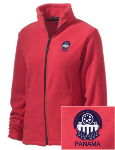 Panama Soccer Embroidered Women's Wintercept Fleece Full-Zip Jacket