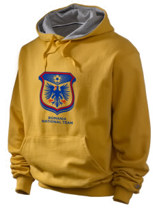 Romania Soccer Champion Men's Hooded Sweatshirt
