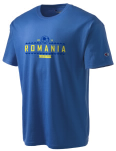 Romania Soccer Champion Men's Tagless T-Shirt
