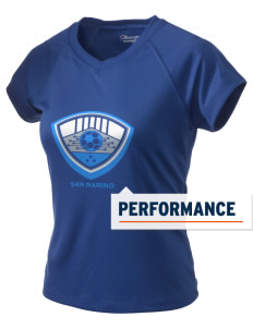 San Marino Soccer Champion Women's Wicking T-Shirt
