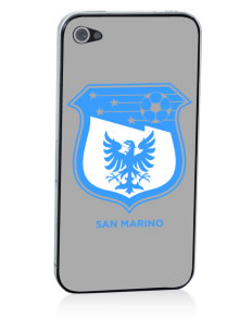 San Marino Soccer Apple iPhone 4/4S Skin