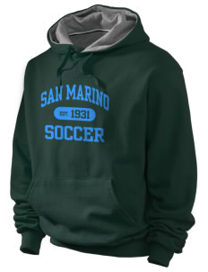 San Marino Soccer Champion Men's Hooded Sweatshirt